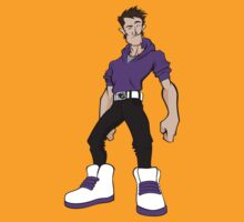 Big Shoes (purple) by spoku