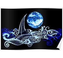 Lunar Sailing Poster