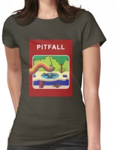Pitfall Womens Fitted T-Shirt