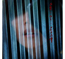 me | the glass door | the corrugated wall by mimi yoon