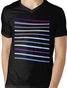 Stripes in Motion Mens V-Neck T-Shirt