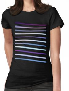 Stripes in Motion Womens Fitted T-Shirt