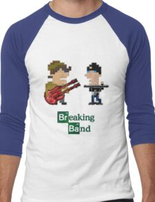 Cubism Breaking Band Men's Baseball ¾ T-Shirt