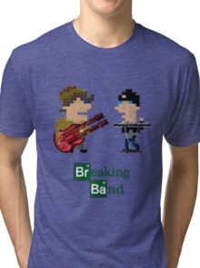 Cubism Breaking Band Tri-blend T-Shirt