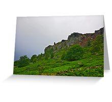 Curbar Edge-Derbyshire Peak District Greeting Card