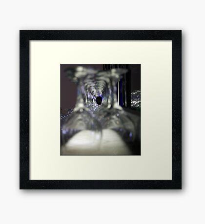 Glazed Tunnel Framed Print