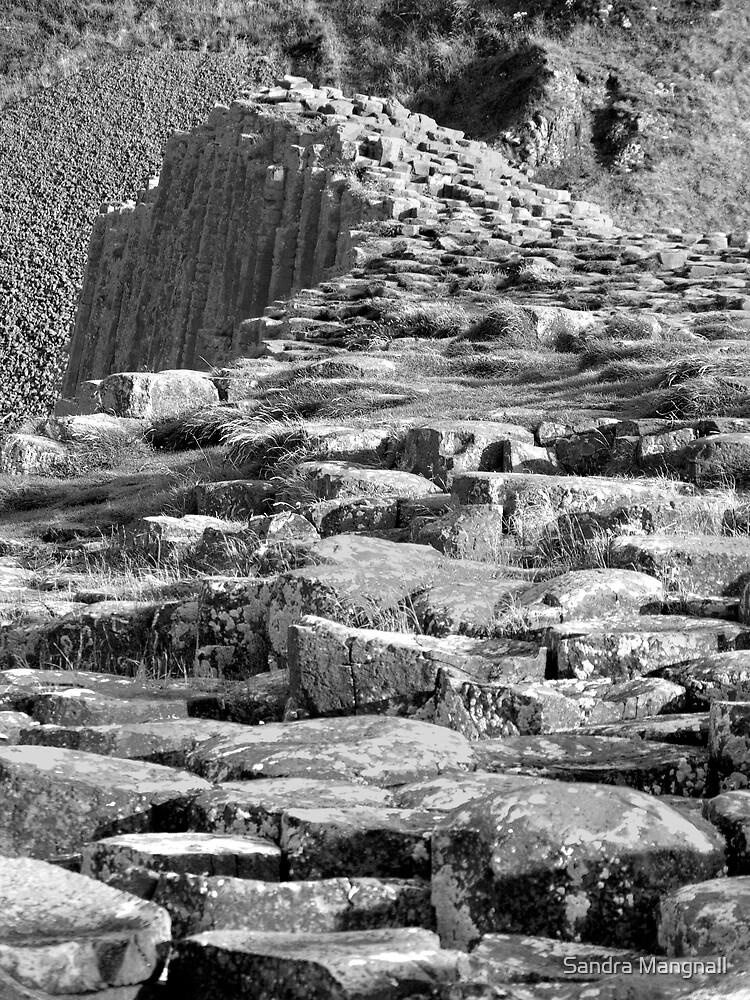 Giants Causeway by Sandra Mangnall