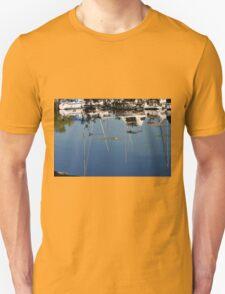 Bayfront boats and reflections T-Shirt