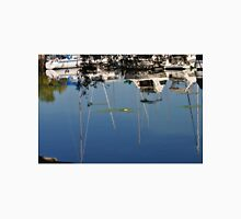 Bayfront boats and reflections Unisex T-Shirt