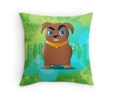 adolf Throw Pillow