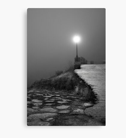 A light in the dark Canvas Print