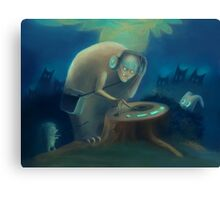 DJ Monster Canvas Print