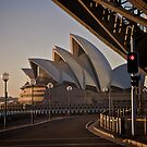 Sydney Opera House, July 2009 by Gayan Benedict
