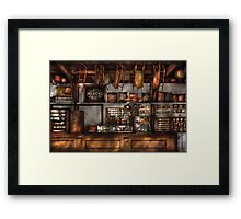Old Fashioned Super Store Framed Print