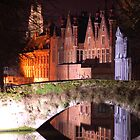 Brugge by night by iandsmith