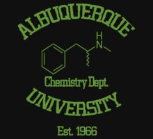 Breaking Bad - Albuquerque University Green by richobullet