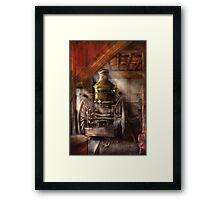 Steam Powered Water Pump Framed Print