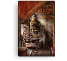 Steam Powered Water Pump Canvas Print