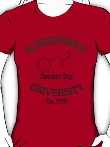 Albuquerque University - Breaking Bad T-Shirt