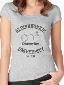 Albuquerque University - Breaking Bad Women's Fitted Scoop T-Shirt