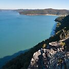 Hawkesbury River and Patonga from Warrah Lookout by Blue Gum Pictures