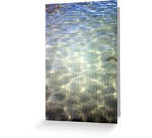 Translucent Sea Greeting Card