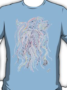 0113 - Soft Lines with tough Patterns T-Shirt
