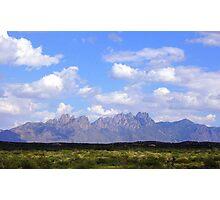 Organ Mountians New Mexico Photographic Print