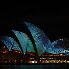Sydney Light Show by emma jane murphy