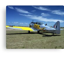 WWII Harvard / Texan  or T-6 Canvas Print