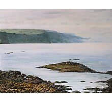 View from Ballycastle,County Antrim,Northern Ireland. Photographic Print