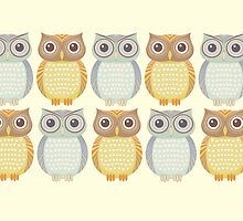 Owl Collection by Jean Gregory  Evans
