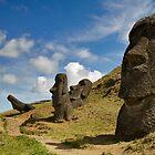 Raro Raruku, Easter Island. by Darren Newbery