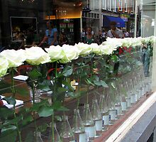 White Roses by Hans Bax