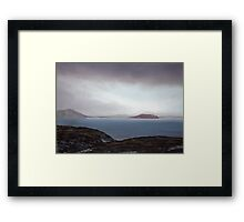 View from Knockamany bends,Co Donegal,Ireland. Framed Print