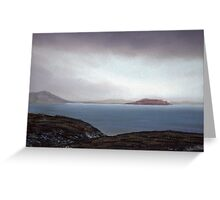 View from Knockamany bends,Co Donegal,Ireland. Greeting Card