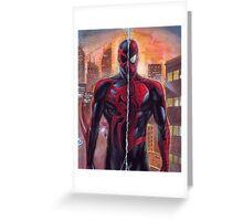 Spiderman 2099 / Spiderman - 2 Legend Greeting Card