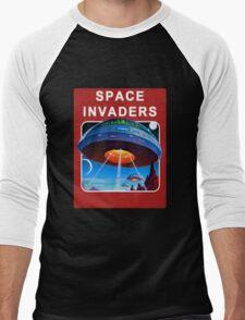 Invading Space Men's Baseball ¾ T-Shirt