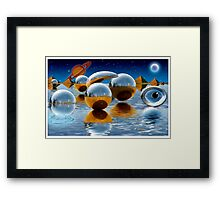 """Multi-Verse"" Framed Print"