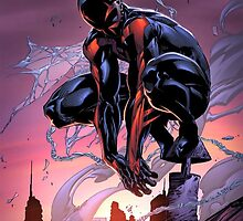 Spiderman 2099 - Guardian Of The Futur by Dnx-Drift