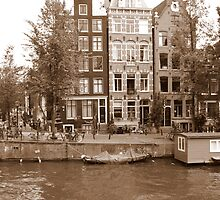 Amsterdam, a beautiful city by Hans Bax