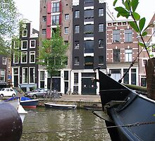 Amsterdam, a beautiful city II by Hans Bax