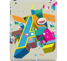 A in style iPad Case/Skin