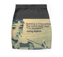 Audrey Hepburn Pencil Skirt