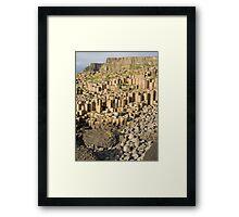 Giants Causeway Framed Print