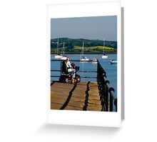 Mobility: Access to a better view Greeting Card