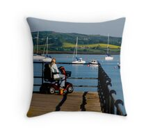 Mobility: Access to a better view Throw Pillow