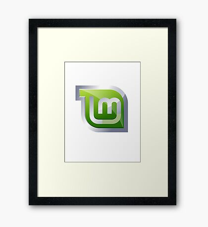 Linux Mint Framed Print