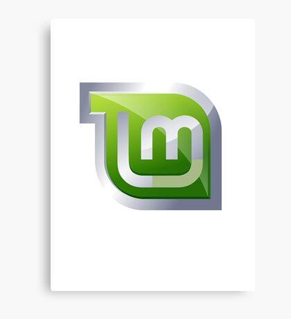 Linux Mint Canvas Print