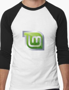 Linux Mint Men's Baseball ¾ T-Shirt